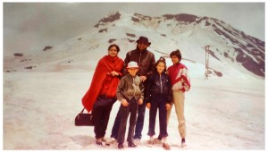With family at Rohtang Year 1986
